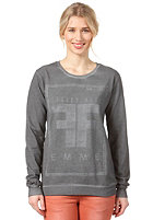 SELECTED FEMME Womens Mood Sweatshirt mid grey melange