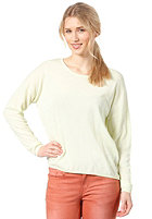 SELECTED FEMME Womens Mylia Knit Sweat lime cream