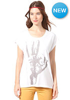 SELECTED FEMME Womens OK S/S T-Shirt white