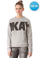 SELECTED FEMME Womens Okay Sweat light grey melange