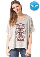 SELECTED FEMME Womens Owl S/S T-Shirt light grey melange
