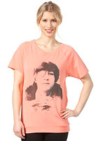 SELECTED FEMME Womens Peace S/S T-Shirt fresh coral