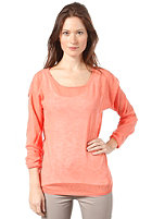 SELECTED FEMME Womens Romina Knit Sweat fresh coral