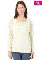 SELECTED FEMME Womens Romina Knit Sweat lime cream