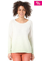 SELECTED FEMME Womens Rosi Knit Sweat lime cream
