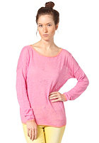 SELECTED FEMME Womens Rosine Bright L/S Knit Sweat super pink