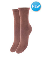 SELECTED FEMME Womens Saga Socks marron