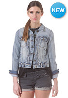 SELECTED FEMME Womens Sharin Denim Jacket light blue denim