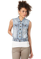 SELECTED FEMME Womens Sharin Denim Waistcoat denim
