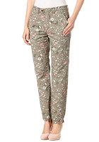 SELECTED FEMME Womens Sofia Chino Pant dusty leaf aop