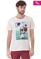 SELECTED Football O-neck IX S/S T-Shirt egret