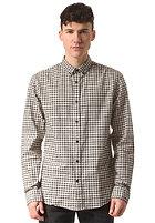 SELECTED Gingham L/S Shirt beluga-white/grey check