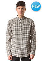 SELECTED Gingham L/S Shirt beluga-white/grey check