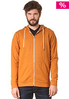 SELECTED Hank Hooded Zip Sweat pumpkin spice melange