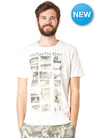 SELECTED Huntington O Neck S/S T-Shirt Faded white