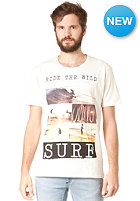 SELECTED Huntington O Neck S/S T-Shirt vanilla ice