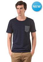 SELECTED Indiana O-Neck ID S/S T-Shirt blue indigo