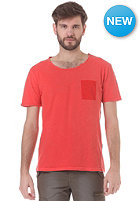 SELECTED Isaac O Neck S/S T Shirt pompeian red