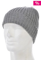 SELECTED Jules Rib Beanie grey