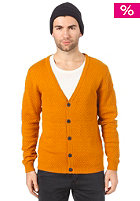 SELECTED Kane Granddad Cardigan buckthorn brown