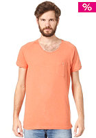SELECTED Lawson U-Neck S/S T-Shirt carnelian