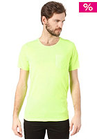SELECTED Leth O-Neck S/S T-Shirt neon green