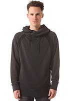 SELECTED Life Dropped Neck Hooded Sweat dark grey melange