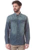 SELECTED Luke L/S Shirt dark blue denim