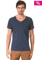 SELECTED Marly V Neck S/S T-Shirt indigo blue