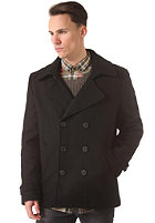 SELECTED Mercer DB Pea Coat black
