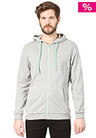 SELECTED Mick Neon Zip Sweatshirt light grey melange