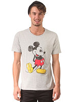 SELECTED Mickey S/S T-Shirt light grey melange