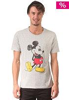 SELECTED Mickey S/S T-Shirt light grey melange