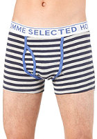 SELECTED Noel Trunks light grey melange
