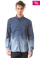 SELECTED One Chris Denim Dye L/S Shirt dark blue denim