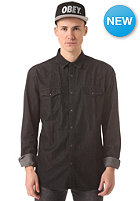 SELECTED One Class L/S Shirt BP black