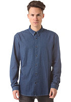 SELECTED One Fade L/S Shirt BP dark blue denim