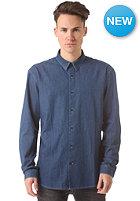 SELECTED One Fade L/S Shirt BP dark blue denim
