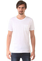SELECTED Pima Dave Deep O-Neck S/S T-Shirt bright white