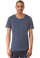 SELECTED Pima Dave Deep O-Neck S/S T-Shirt insignia blue