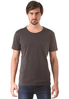 SELECTED Pima Dave Deep O-Neck S/S T-Shirt phantom