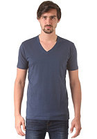 SELECTED Pima Drill Deep V-Neck S/S T-Shirt insignia blue