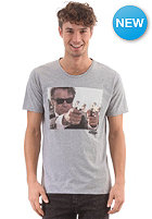SELECTED Reservoir Dogs O-Neck S/S T-Shirt light grey melange