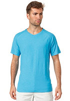SELECTED Slate Neon V-Neck S/S T-Shirt neon blue
