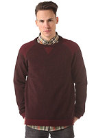 SELECTED Spleen Crew Neck Knit Sweat zinfandel