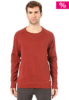 SELECTED Steph Crew Neck Sweat fired brick m�lange