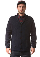 SELECTED Steve Heavy Shawl Cardigan navy blazer