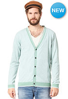 SELECTED Terry Granddad Cardigan malachite green