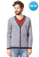 SELECTED Terry Granddad Cardigan night sky