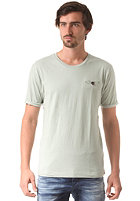 SELECTED Theo S/S O Neck T-Shirt aqua gray